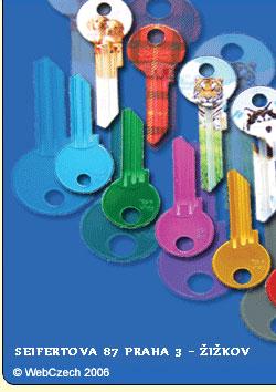 Přidělání klíčů plzeň